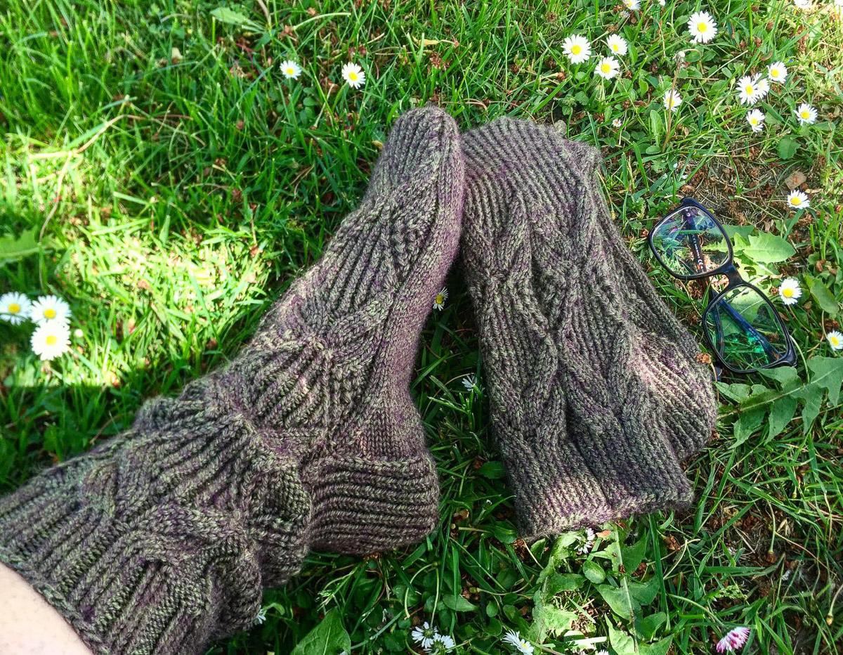 Lange Socken | Stricken |Beeja strickt