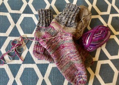 Bunte Socken | Stricken |Beeja strickt