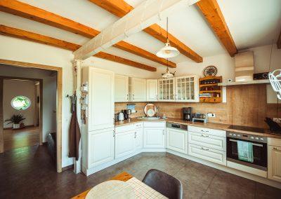 Ferienwohnung in Büttelkow - FeWo HERZENSLUST - Küche EG