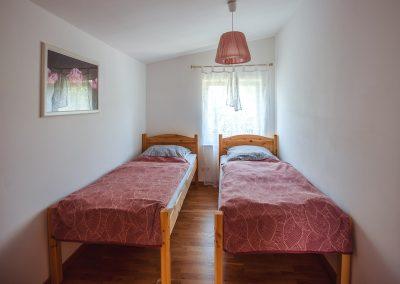 Schlafzimmer 3 | FeWo HERZENSLUST | Ostsee Ferienwohnungen in Büttelkow