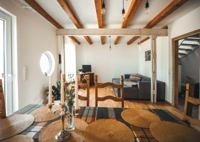 Wohnzimmer | FeWo HERZENSLUST | Ostsee Ferienwohnungen in Büttelkow